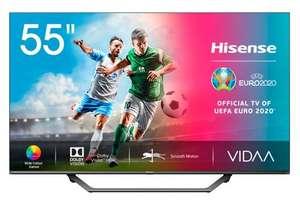 Hisense 55A7500F 4K UHD - HDR10+, Dolby Vision, Compatible con Alexa