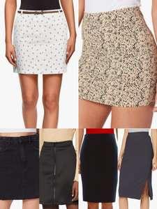 Faldas por menos de 10€. Varias tallas y modelos.