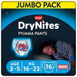 DryNites Cuecas Huggies