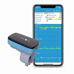 Monitor de oxígeno del sueño con alerta de vibración para el seguimiento de la apnea del sueño Nivel de oxígeno