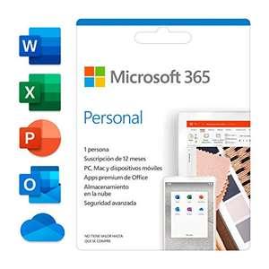Microsoft Office 365 Personal (Suscripción anual)