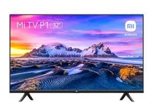 "TV LED 32"" - Xiaomi Mi TV P1, HD, Smart TV, WiFi, Control por voz, AndroidTV, Dolby Audio™ y DTS-HD, Negro"