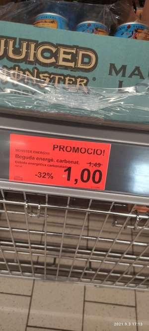 Monster Energy en supermercado Aldi ( Sant Celoni)