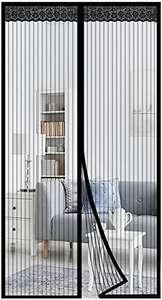 Mosquitera Magnética para Puertas 80x200 cm