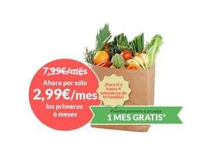 Servicio de nutricionista para 5 personas por 3€/mes durante 6 meses [1º MES GRATIS]