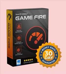 Game Fire PRO (Aumenta los FPS FPS de los juegos y reduce los retrasos y las interrupciones) - 1 Año de licencia
