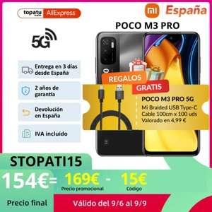 POCO M3 Pro 5G con 4GB/64GB envió desde España.