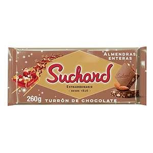 Suchard Turrón De Chocolate Con Leche Y Almendras Enteras (260gr)