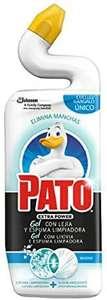 PATO® - WC Power Lejía Fragancia Marine, Limpiador Quitamanchas para Inodoro, 750 ml (3x2 y compra recurrente) 3 UNIDADES