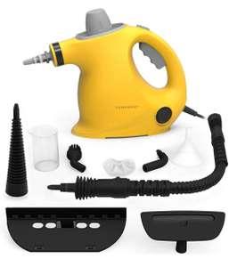 Limpiador De Vapor De Mano Portátil de Usos Múltiples con 9 Accesorios