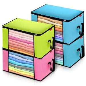 2 x Bolsas almacenaje de ropa KING DO WAY 3/4 piezas 90L - Desde España