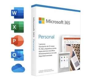 Microsoft 365 Personal 1 Usuario 1 Año
