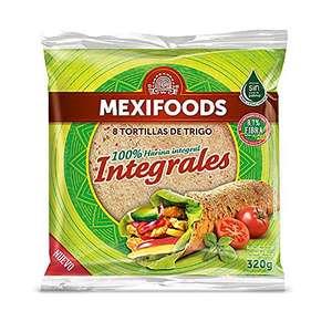 Mexifoods Tortilla Integral 100% Mexifoods 320 g (Tb Alcampo)