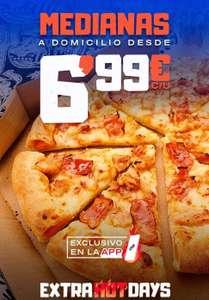 Pizzas medianas Domino's Pizza a domicilio (mínimo 2)