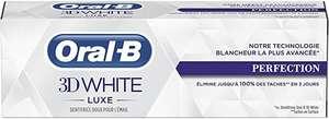 Oral-B Manual 3Dwhite Lujo Perfección Pasta Dentífrica Blanqueadora 75 ml