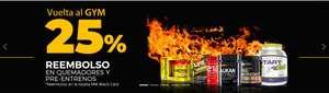 25% Reembolso en quemadores y pre-estrenos en la tarjeta MM Black Card + cupones.