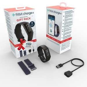 Fitbit Charge 4 Pulsera de Actividad Negra Edición Navidad (Solo en Tiendas NO ONLINE)