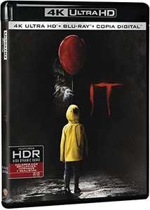"""Película """"It"""" en Blu-Ray 4K HDR"""