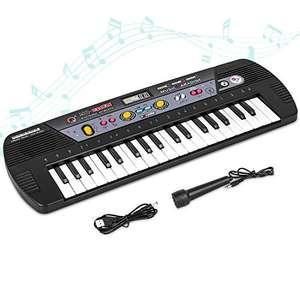 Piano para Niños 37 Teclas teclado LCD