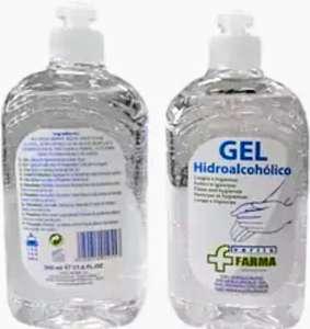 Gel higienizante manos - Nkare Gel hidroalcohólico 500ml, Secado rápido, Para todo tipo de pieles
