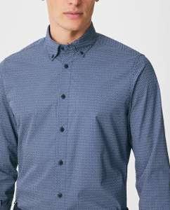Camisa hombre Slim Fit tallas S y XXL. (Talla XXL también en otro color)