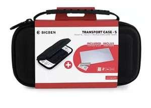 Funda - Bigben Transport Case-S, Para Nintendo Switch Lite, Cristal templado