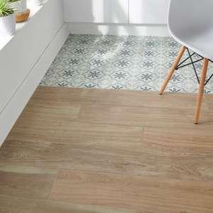 Pavimento porcelánico Pine Natural 20 x 80 cm, precio por m2