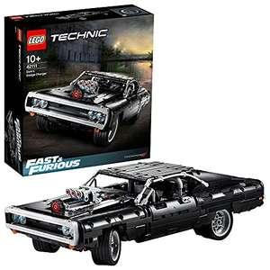 LEGO 42111 Technic Dom's Dodge Charger Modelo de Coleccionista de Coche de Carreras de Fast & Furious Set de Construcción
