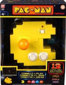 Bandai Pac-Man Connect & Play Consola con 12 juegos de arcade retro integrados