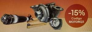 Cupón -15% motor en seleccionados