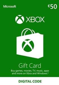 Tarjeta Regalo Xbox Live 50 EUR por 40,23€ con billetera eneba [ 43,35 con Paypal ]
