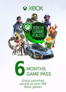 Xbox Game Pass 6 Meses Xbox (Europe)