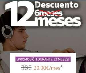 Movistar Conecta 12 meses a 29,90€: Fibra 300Mb, ADSL o Radio + fijo con llamadas SIN PERMANENCIA