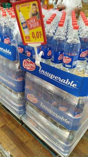 Botellas de 1'5L de La Casera a 1 céntimo en Sqrups