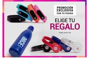 Elige entre una pulsera de actividad, unos auriculares o una botella térmica + envío gratis al gastar 15€