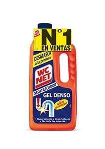 (Precio comprando 3) WC Net - Energy Desatascador Gel para Tuberías 3.16€ la unidad