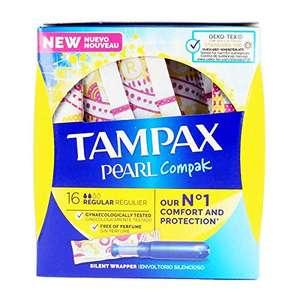 3 Packs de Tampax Pearl Compak (y tambien Tampax Pearl)