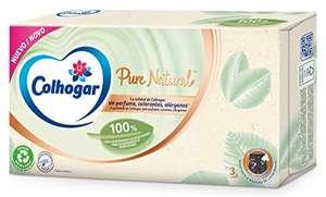 8 paquetes Colhogar Pañuelos Facial Pure Natura