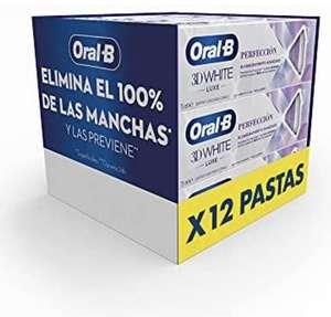 Pack de 12 Oral-B 3DWhite Luxe 12x75 ml)
