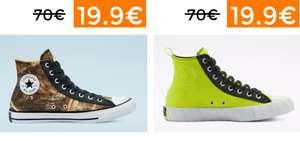 Preciazos en selección zapatillas Converse