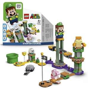 Super Mario Aventuras con Luigi Pack Inicial - Set de Construcción(LEGO 71387) [11/09 a las 10.00 a.m]