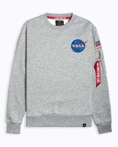 Sudadera Alpha Industries NASA Space Shuttle | Tallas S, L, XL y XXL