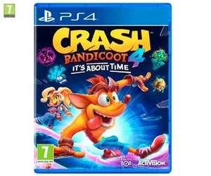 Crash Bandicoot 4 PS4 (Alcampo Vilanova, Alcobendas y Santiago de Compostela)