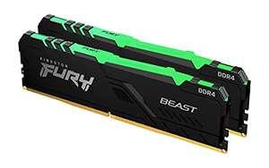 Kingston FURY Beast RGB 64GB (2x32GB) 3000MHz DDR4 CL16