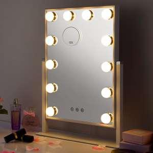 Espejo maquillaje iluminación Led