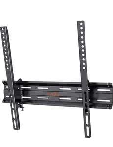 Soporte TV Pared de 26 a 55 Pulgadas, Pared inclinable para Televisión con Carga de 45 kg,