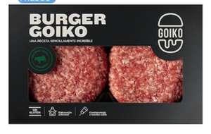Llévate 2 unidades Hamburguesa Goiko 380 Gr + 2 ud pan de hamburguesa de 150Gr por solo 7,49 €