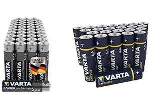 70 pilas Varta Paquete de 40 Unidades + Pila Energy AA Mignon LR06 (Paquete de 30 Unidades)