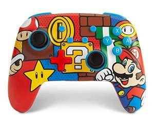 Mando Inalámbrico Mejorado Para Nintendo Switch. Mario Pop (Nintendo Switch), Exclusivo en Amazon