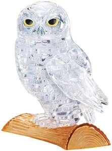Puzzle 3D owl 42 piezas,que se puede meter una luz led